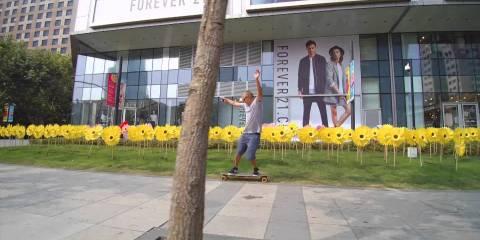 YUNEEC EGO & CGO3 STEADY GRIP Shanghai Streets