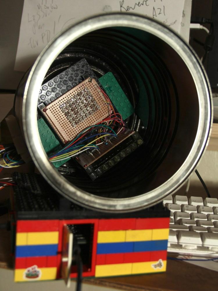 Pinhole camera DIY