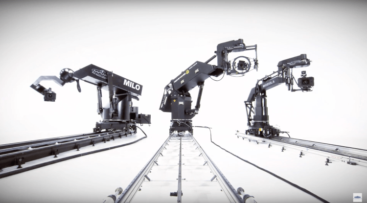 Bet Your Showreel Doesn't Have Three Awesome Robot Motion
