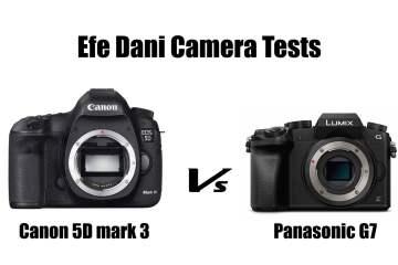 Canon 5D MKIII Vs Panasonic G7 Camera Low Light Test