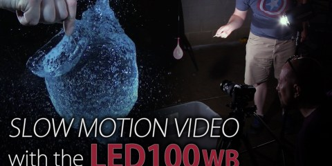 Shoot Slow Motion Video with the Fotodiox LED100WB