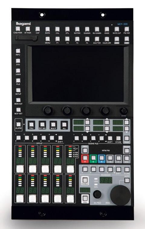 Ikegami_MCP-300_network_master_control_panel