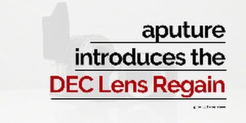 Aputure DEC Lens Regain