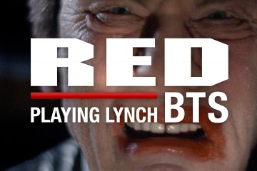 """BTS With RED on the set of """"Playing Lynch"""""""