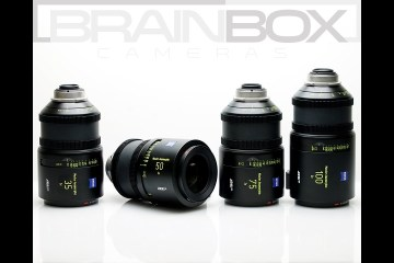 ARRI / Zeiss MASTER Anamorphic Lenses Review, Test, & Overview from BrainBox Cameras