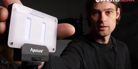 Quick Look At The Aputure AL-M9 Amaran LED Video Light