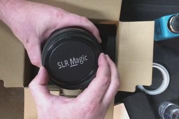 SLRMagic APO Hyperprime 25mm t2.1 PL Mount Lens Unboxing