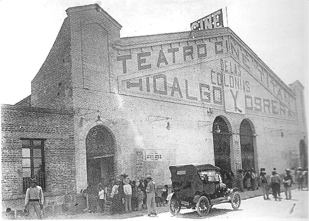 El teatro cine Titán de las colonias Hidalgo y Obrera