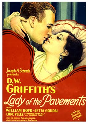 Lady of the Pavements de D.W. Griffith (1929)
