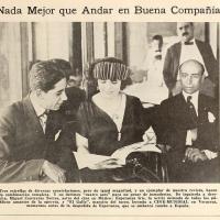Miguel Contreras Torres, Esperanza Iris y El Gallo (1923)