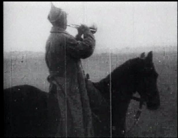 Fotograma de un documental sobre la guerra civil