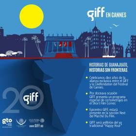 Presencia del Festival Internacional de Cine Guanajuato en Cannes
