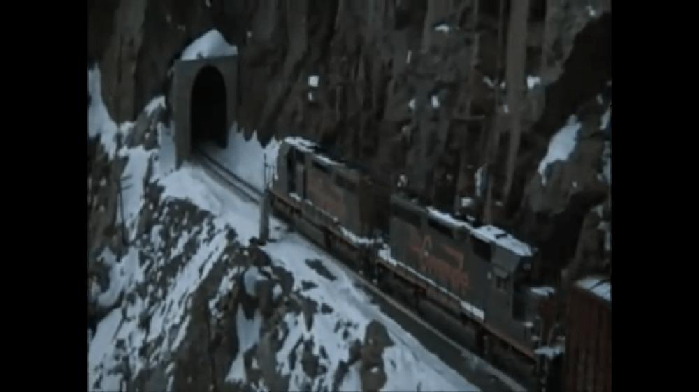 Terror in the Rockies, Rare EMD locomotives in