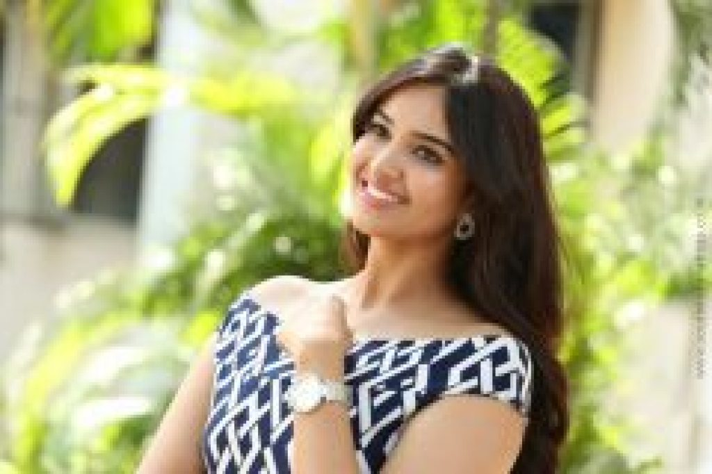 Lovely Smile of Pujita ponnada