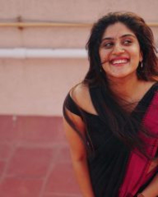 Dhanya Balakrishnan smiling face