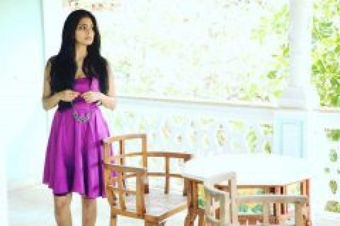 Malavika Mohanan in Purple