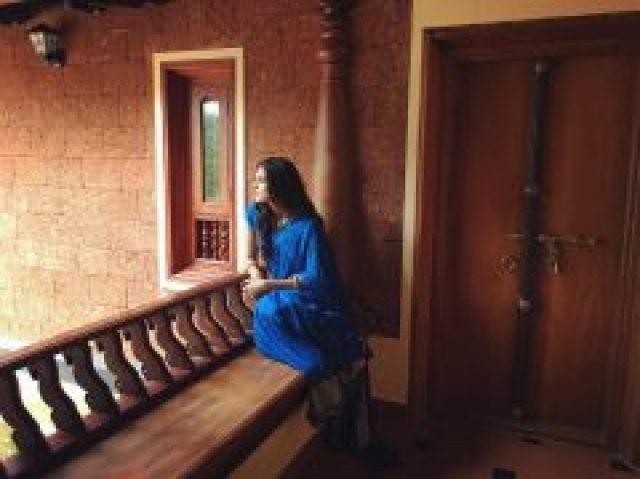 Malavika Mohanan in Blue