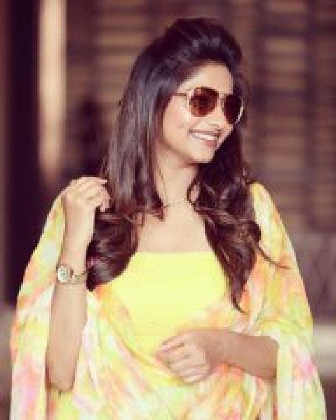 Rachita Ram in Yellow