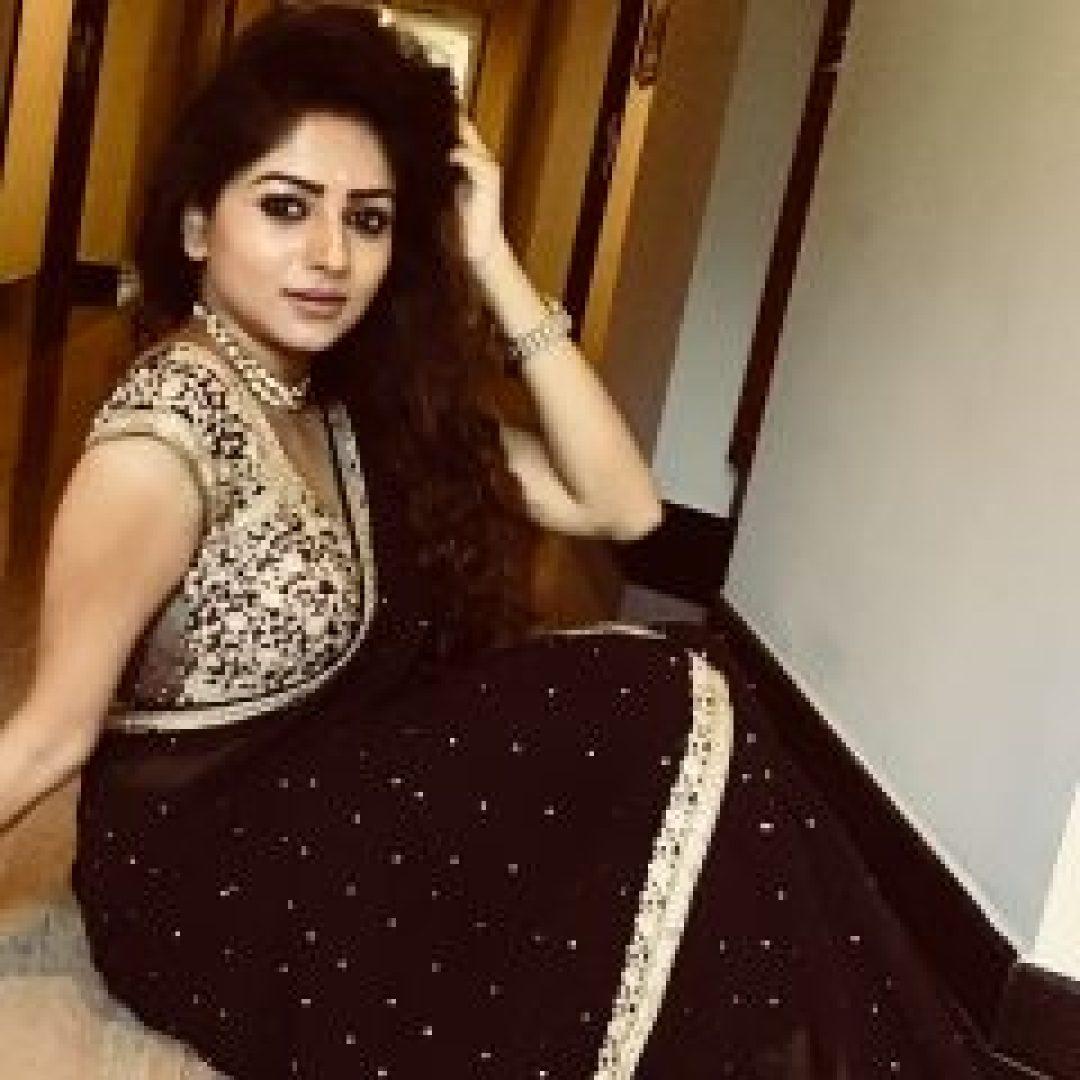 Rachita Ram in Black Saree