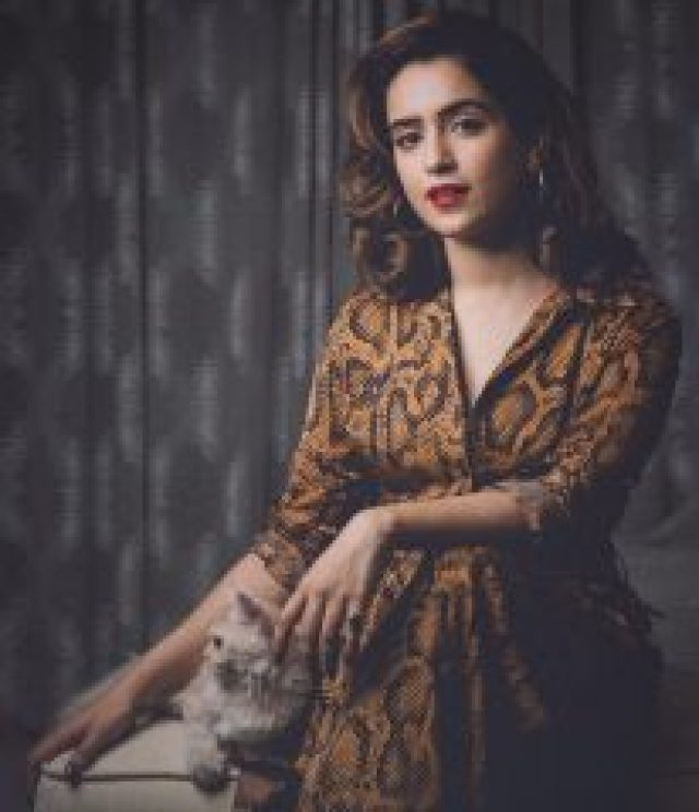 Cat Lover  Sanya Malhotra
