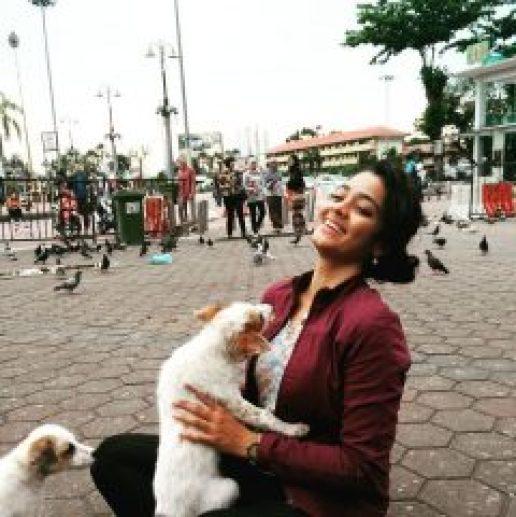 Pet lover Gayathri Shankar