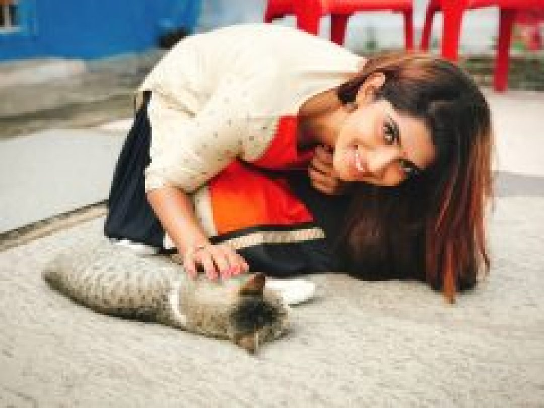 Sameera Sherief is a Pet Lover