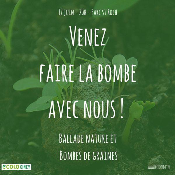 Le 17 juin, venez faire la bombe avec nous