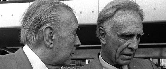 Jorge Luis Borges y Adolfo Bioy Casares