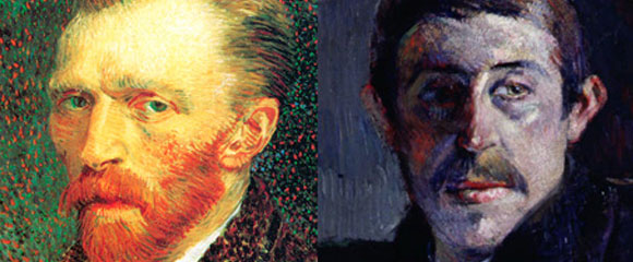 Vincent Van Gogh y Paul Gauguin
