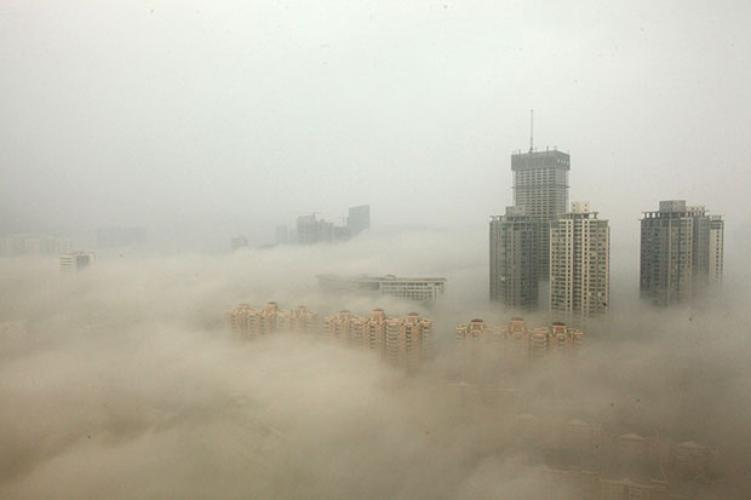 Contaminación del aire en China