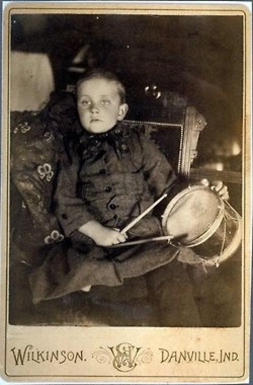Fotografía Post-Mortem de un niño