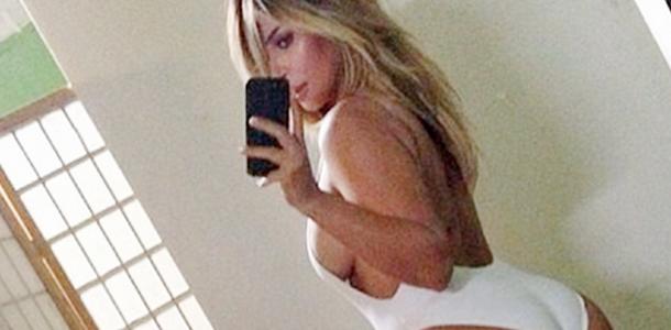 Selfies de Kim Kardashian en Instagram