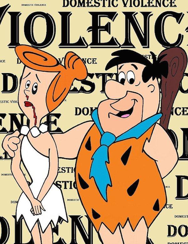 Vilma y Pedro Picapiedra