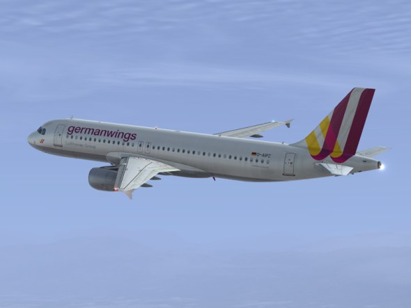 Avión Airbus A320 Germanwings