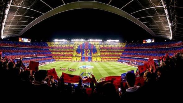 Estadio Nou Camp del Barcelona