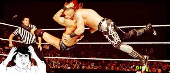 Golpes fuertes en la WWE