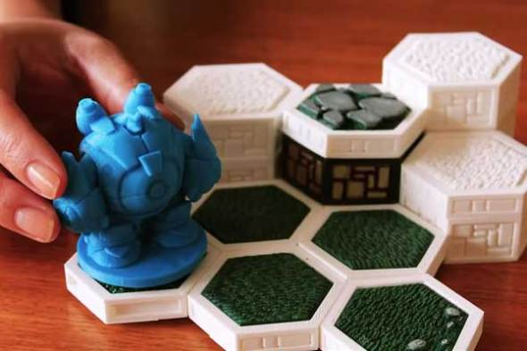 Imprimir juegos de mesa