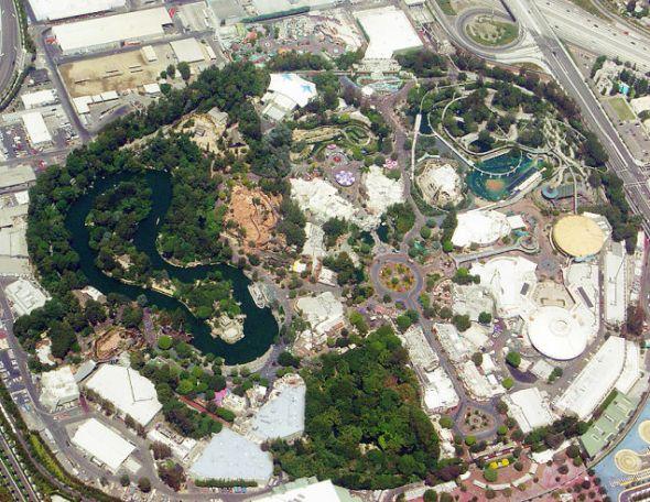 Parque de Disneylandia en 2005