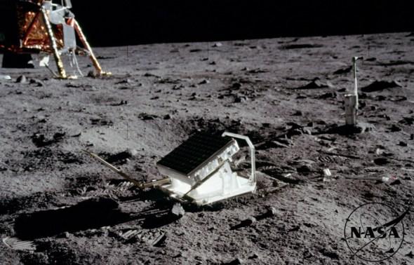 El espejo dejado en la luna
