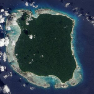 La isla Sentinel del Norte
