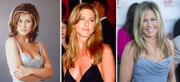 Jennifer Aniston como Rachel Green en Friends