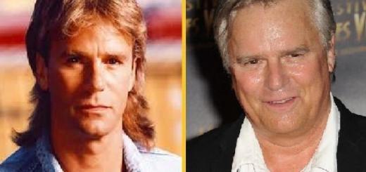 MacGyver antes y después