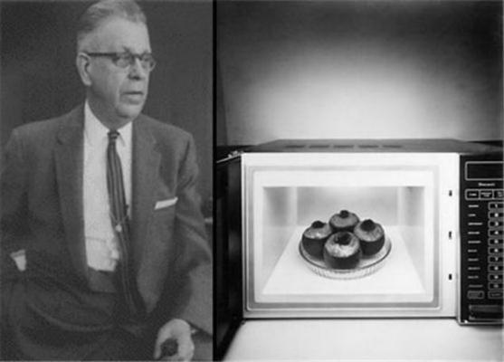invencion horno microondas