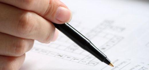 La nota en los exámenes