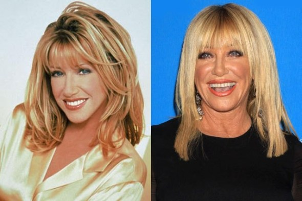 Suzanne Somers en Paso a Paso