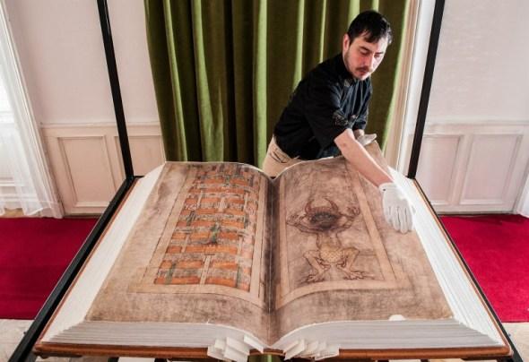 El enorme tamaño del Codex Gigas