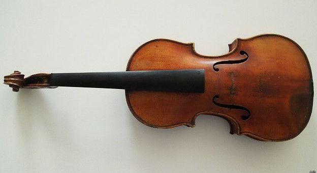 El violín de Antonio Stradivari