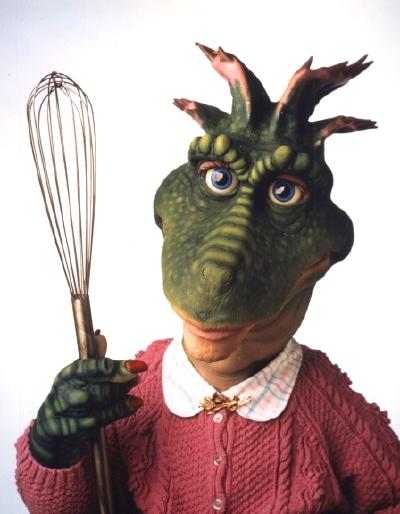 Dinosaurios Repasamos Los Personajes De La Serie Y Capitulos Monstruo debajo de la cama. repasamos los personajes de la serie y