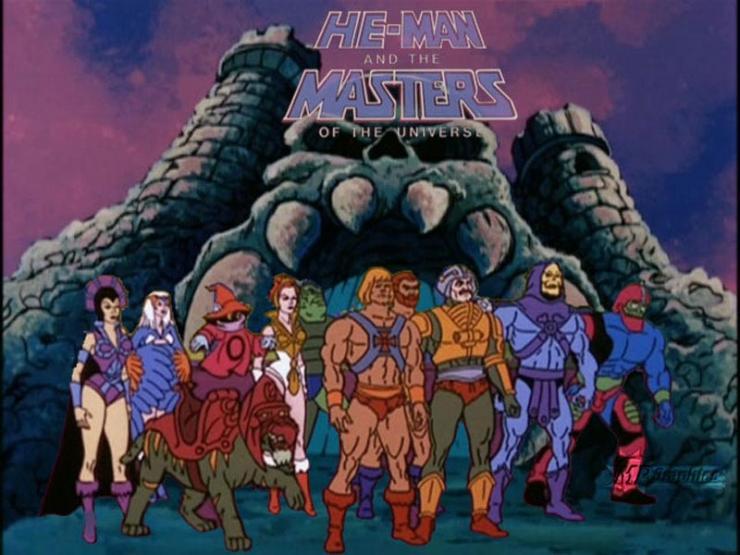 Personajes de He Man y los Amos del Universo