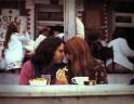 Jim Morrison y su novia Pamela